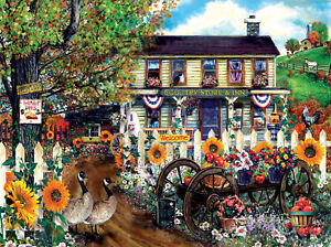 THE OLD COUNTRY STORE by TOM WOOD SunsOut 1000 piece puzzle NEW