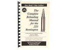 223 Remington .223 Rem  Reloading Manual LOADBOOKS  USA Loadbook