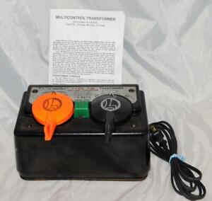 Lionel TW transformer 175 watts Whistle control Recent serviced New Cord 1954-60