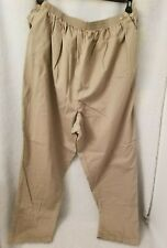 Duo Maternity Womens Brown Elastic Waist Adjustable Pants Size 3X