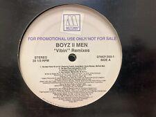 "Boyz II Men Vibin' Remixes 12"" Craig Mack, Method Man, Busta Rhymes"
