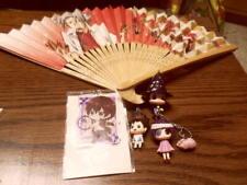 Hitman REBORN! Japan Goods Lot Keychain Mini Figure Strap Fan Hibari Etc Anime