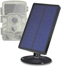 Solar Panel dc/Micro USB 3600mah Power Charging for Hunting Trail Game Camera(6V