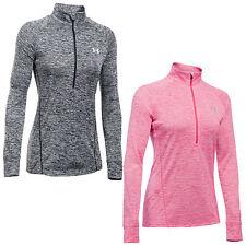 Damen-Sport-Sweatshirts & -Pullover mit halbem Reißverschluss