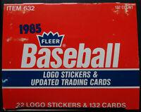1985 Fleer Baseball Update Team Set Baseball Cards Pick From List