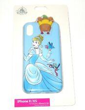 Princesa Mulan Ariel Cenicienta se adapta iPhone//Samsung W15 Estuche Abatible de Cuero