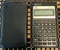 HP 17BII Financial Calculator with Cover  **fast shipping** Fully Tested