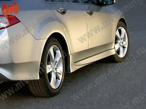 Side Skirts Type-S Style Body Kit for  Accura TSX CU2, CW2 201, 2012, 2013, 2014