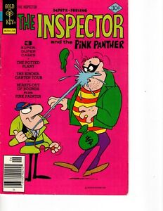 THE INSPECTOR No 15 with THE PINK PANTHER Three Cases and a Pink Panther story!