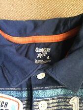 Boys Youth  Size 4T Short Sleeve Polo Style Shirt--OLD NAVY & OSHKOSH