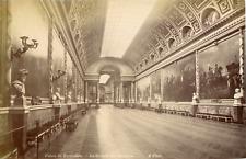 France, Versailles, le château, la galerie des batailles  Vintage albumen print,