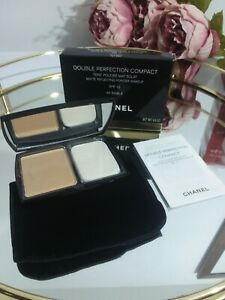 Chanel Double Perfection Compact - Matte Reflecting Powder - #40 Sable SPF10