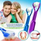 2-PK DenTrust WHITE-ON 3-Sided Toothbrush WHITENING Toothpaste Applicator SMILE