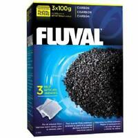 Fluval Carbon 300 Gram, Improves Water Clarity & Color (3 Pack)