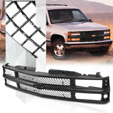 Black ABS Classic Mesh Grille/Grill for 94-99 Chevy C10 CK Suburban/Blazer/Tahoe