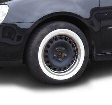 """4x Weißwandringe 15"""" Zoll + Zulassung VW Polo T1 T2 T3 T4 T5 T6 Weißwandreifen"""