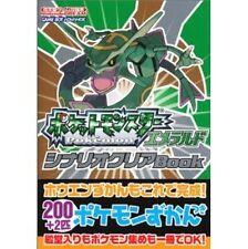 Pokemon Emerald Scenario Clear Book / GBA