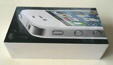 Brand New Sealed Box Apple iPhone 4 White 8GB Unlocked Model A1332 Collectors UK