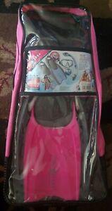 Aqua Lung Sport Diva Sport Snorkel Set, Pink size 5-8 NEW