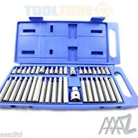 40Pc,Torx Star Spline Hex Socket Bit Set. 3/8 And 1/2 Drive High Quality Case