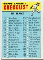 1966 Topps #363 Checklist 5 EX-EXMINT+ Series 5 FREE SHIPPING