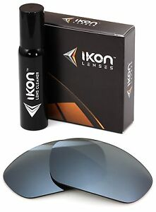 Polarized IKON Replacement Lenses For Costa Del Mar Howler - Silver