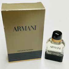 Giorgio Armani Armani Eau Pour Homme Men's Cologne Spray 0.17oz Vintage Rare