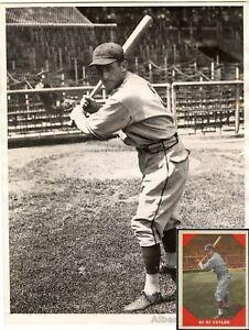 1937 Kiki Cuyler Original TYPE 1 photo Used for 1960 Fleer Baseball Card PSA LOA