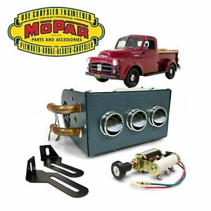 1948-1953 Dodge B-Series Compact Under Dash 12,000 BTU Truck Cab Heater Core Box