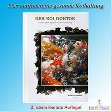 DER KOI DOKTOR v. Maarten Lammens Fachbuch Koihaltung Teich + Koi Krankheit Buch