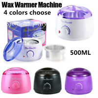 Wax Warmer Heater Pot Machine Depilatory Hard Wax Bean Hair Removal Paraffin Kit