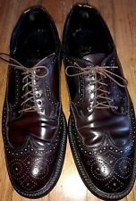 VINTAGE HANOVER L B SHEPPARD SHELL CORDOVAN WINGTIPS SIZE 8 C/A