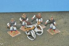 Alta Perno lanzador 4 Crew De Metal elfs Warhammer Fantasy Sigmar (8649) Pintado