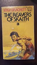 "Leigh Brackett, ""Reavers of Skaith,"" 1976, Ballantine 244385, VG, 1st PBO"