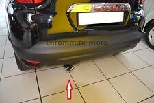 Auspuffblende passend für Renault Captur  form OVAL aus EDELSTAHL
