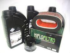 KIT DE MANTENIMIENTO ACEITE SILKOLENE SUPER4 10W40 HONDA 750 VT Shadow 00 2001