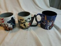 Lot of 3 Star Wars Coffee Mugs