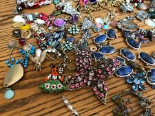 Rhinestone and More, Bits and Pieces of Jewelry for Crafting or Harvesting
