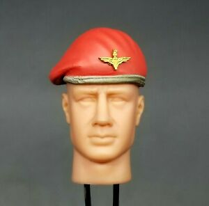 "1:6 Ultimate Soldier WWII British Paratrooper Red Beret Hat 12"" GI Joe Dragon"