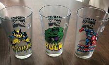Marvel Comics Glass Lot