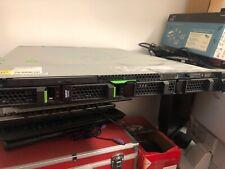 SERVER RACK FUJITSU PRIMERGY RX100 S8-CORE i3-RAM 8-HDD 520 SATA 7.2K-COME NUOVO