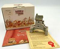 Lilliput Lane Bridge House Collectable Miniture House, Discontinued Vintage 1991