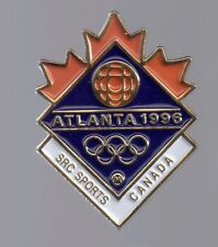 1996 SRC Sports Olympic Press Pin Atlanta Canada
