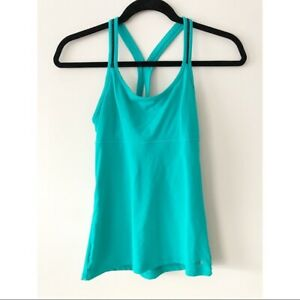 Victoria's Secret Sexy Sport Athletic Teal Tank Top Size XS Women's
