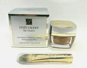 Estee Lauder Re-Nutriv Ultra Radiance Lifting Creme Makeup ~ 4C3 Soft Tan ~ 1 oz