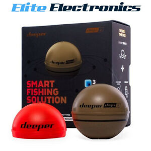 Deeper CHIRP+ 2 Smart Sonar with GPS & Wi-Fi for Pro Anglers DP4H10S10