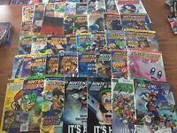 Nintendo Power 42 Magazines, Posters, Rare N64, Gamecube Smash Bros, Mario Party