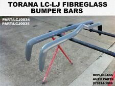 TORANA LC LJ FRONT AND REAR BUMPER BARS FIBERGLASS STREET OR DRAG USE