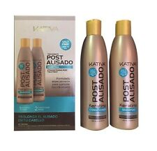 Kativa Post Brazilian Kertain Hair Repair Treatment Shampoo Conditioner 250ml