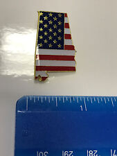 Alabama State Lapel Pin AL US Flag American USA Patriot Politics